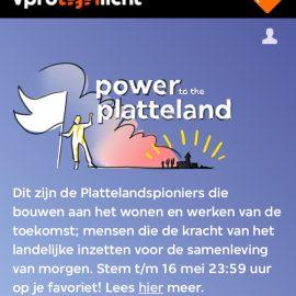 Eduard van Vliet genomineerd voor VPRO Tegenlicht plattelandspioniers